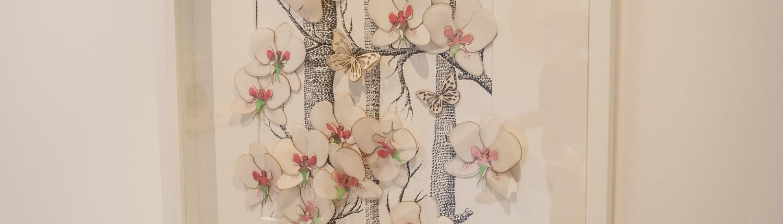 Orkidéer og sommerfugler Zero-Waste Land av Kristel Erga.