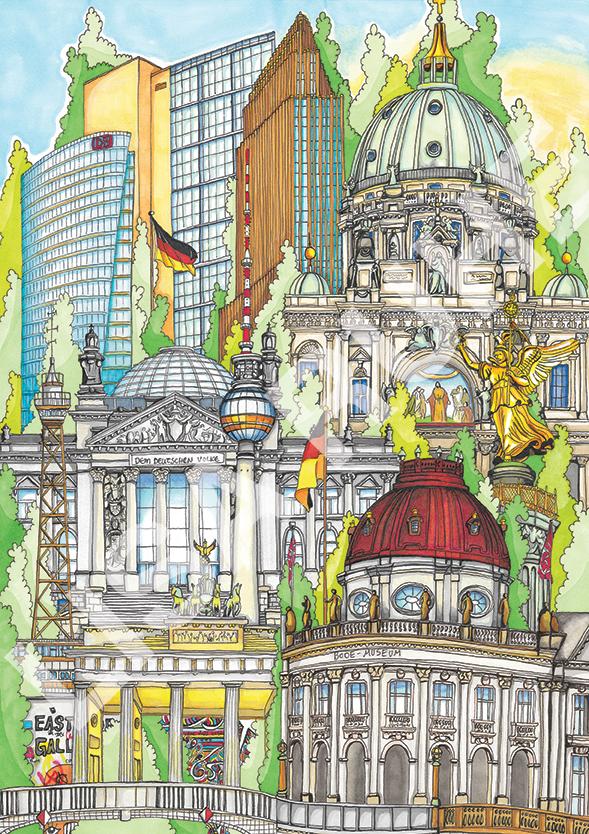 Berlin av Lisa Ruhe i Ventegalleriet