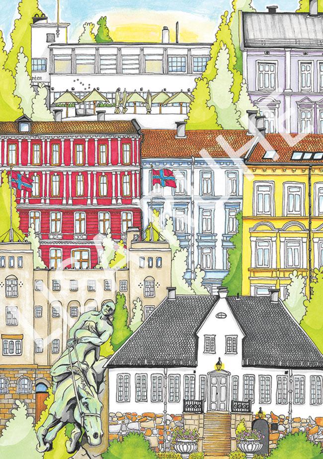 Gamle Oslo av Lisa Ruhe