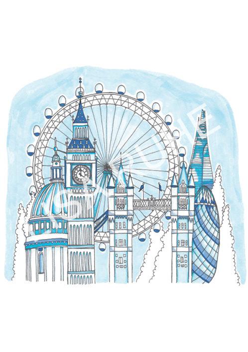 LondonBlues av Lisa Ruhe