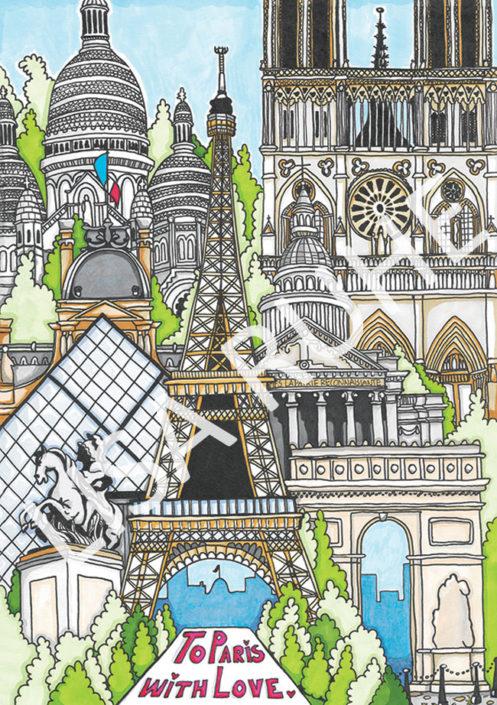 Paris av Lisa Ruhe